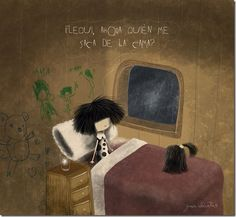 puro pelo - Buscar con Google Color Of Life, Cute Drawings, Girl Hairstyles, Childrens Books, Life Is Good, Sick, Mood, Pure Products, Funny