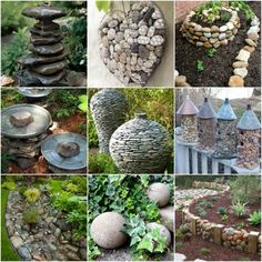 Stones are a natural way to update a landscape and make a statement. Enjoy these stylish garden projects using rocks to inspire your own yard improvement.