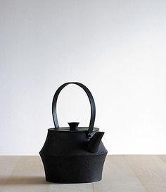 Iron Kettle.  Designed at Jurgen Lehl and hand made at Nobuho Miya's Kamasada.