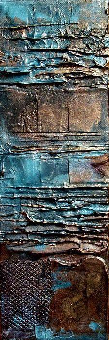 ❧ Couleur : Brun et bleu ❧:
