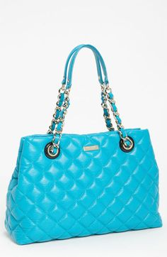 kate spade new york 'gold coast - maryanne' quilted leather shopper - was $478 now $286