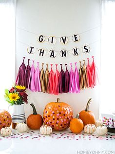 100 Thanksgiving Table Decor Ideas   Tiny Prints