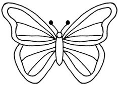 Image Result For Butterfly Template Printable Table Decorations Stencil Outline