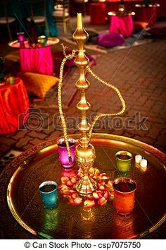 Stock Photography of Hookah at Indian Wedding - Image of a Hookah ...