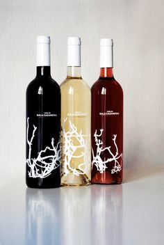 Carles Sala Casanovas Wine bottle design