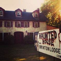 Brinton Lodge Haunted House douglasville pa Halloween Attractions, Real Haunted Houses, Home Inspection, Happy Thanksgiving, Happy Thanksgiving Day
