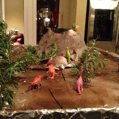 6th Grade Volcano Science Project. Just add baking soda and vinegar and BOOM!