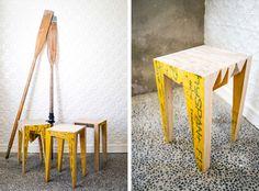 Handcrafted reclaimed furniture by Aussie designer Brett Sambrooks http://www.designhunter.net/handcrafted-reclaimed-furniture-aussie-designer-brett-sambrooks/
