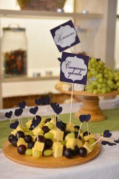 можно на каждый стол Фруктовые свадьбы (яблочные, лимонные, ягодные...) | 138 Фото идеи