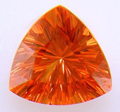 Mandarin Garnet is a very special type of Spessartite Garnet from Namibia. In finer qualities, it displays a vivid orange hue that is remini. Coral, Orange Aesthetic, Orange You Glad, Orange Crush, World Of Color, Happy Colors, Gems And Minerals, Crystals And Gemstones, My Favorite Color