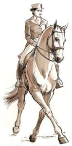 The most important role of equestrian clothing is for security Although horses can be trained they can be unforeseeable when provoked. Riders are susceptible while riding and handling horses, espec… Horse Drawings, Animal Drawings, Art Drawings, Dressage Horses, Equestrian Outfits, Animal Sketches, Expo, Equine Art, Horse Art