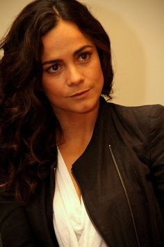 Alice Braga - Queen of the South  I Love how Teresa's character is portrayed.  I love her mysterious ways and admire her instinct For Survival.  She has a good heart and good Intentions however she is thrown into an ugly World of drugs and chaos.   I can't wait to see how she rises up and becomes the shot caller.