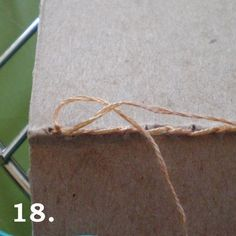 Simple Bookbinding Tutorial with stitches covered