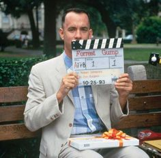 Tom Hanks on the set of Forrest Gump | ThisIsNotPorn.net - Rare and beautiful celebrity photos