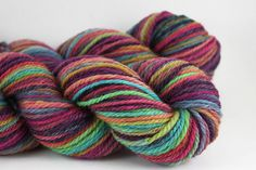 Ravelry: ceylanguls FatCatKnits Handpainted Superwash BFL Combed Top