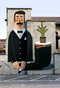 Agostino Iacurci | great street art, best urban artists, street artist, graffiti artists
