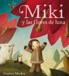 M de MIKI. En un mundo mágico y helado, Miki, Pingüino y Oso Polar nos enseñan, a través de sus aventuras, lo importante que es la amistad.