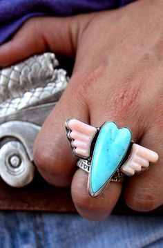 WINGED HEART RING - Junk GYpSy co.