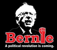 A political revolution is coming Bernie Sanders for President t shirt SMALL