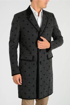 8eb01692117 Buy Gucci Wool Coat at outlet price on Glamood. The best men Gucci Wool  Coat offer for your classy wardrobe.