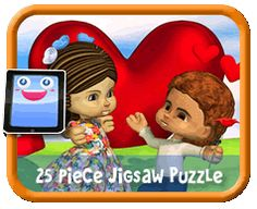 Down on One Knee - 25 Piece Online jigsaw puzzle for kids