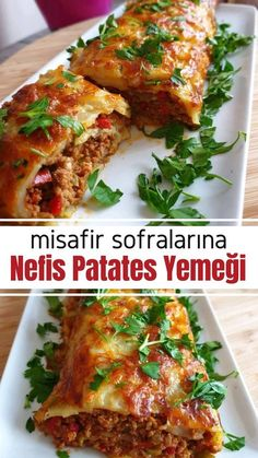 Misafir Sofralarına Yakışacak Patates Yemeği - Nefis Yemek Tarifleri potato al horno asadas fritas recetas diet diet plan diet recipes recipes Food T, Food And Drink, Yummy Food, Delicious Recipes, Gourmet Recipes, Diet Recipes, Cooking Recipes, Table D Hote, Turkish Kitchen