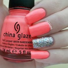 ChrissyAi: Neon with Glitter Accent