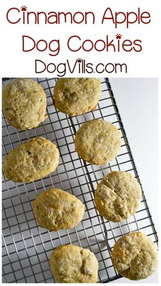 We have another delicious hypoallergenic dog treat recipe for you today! Whip up these yummy apple cinnamon cookies for your pooch!