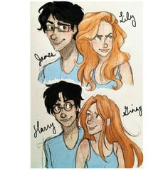 this reminds me of a random thought i had: combine hermione & ginny, & harry was basically dating his mother :)
