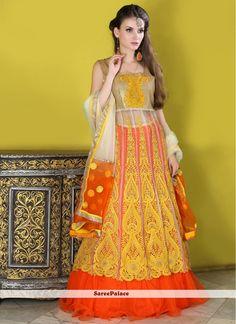 Congenial A Line Lehenga Choli For Wedding