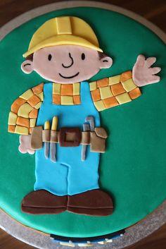 Bob The Builder Cake / Bob der Baumeister Torte (2) by mehralsnureinetorte, via Flickr