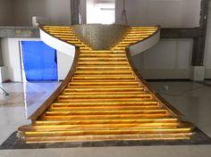 Juparana Dorado stairs