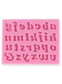 Huismerk Kleine Letters Fondant