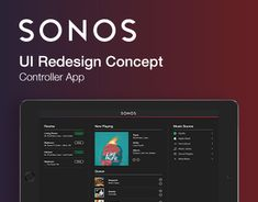 """Check out new work on my @Behance portfolio: """"Sonos Controller App – UI Redesign Concept"""" http://be.net/gallery/40378301/Sonos-Controller-App-UI-Redesign-Concept"""