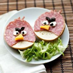 7 recipes for children from Angry Birds! 7 recipes for children from Angry Birds! Healthy Meals For Kids, Kids Meals, Healthy Recipes, Cute Food, Good Food, Food Art For Kids, Food Carving, Food Crafts, Food Humor