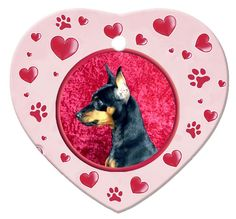 Make wonderful memories with our beautiful heart shaped, dog breed ornaments. | eBay!