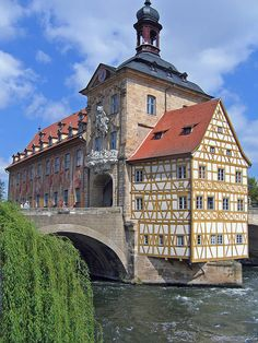 Altes Rathaus in Bamberg, Bavaria, Germany