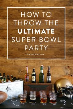 On Super Bowl Sunday, your house is going to be a hit.