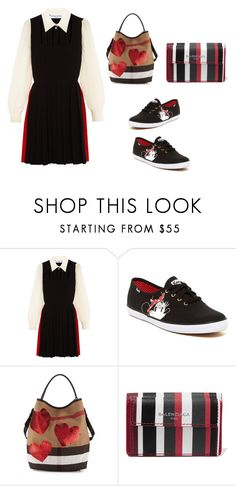 """""""Sporty Chic: Sneakers and Dresses<3"""" by soccerstar59777 ❤ liked on Polyvore featuring Sonia Rykiel, Keds, Burberry, Balenciaga and SNEAKERSANDDRESSES"""