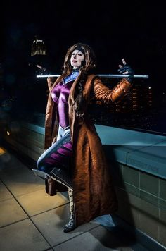 I love this incredible genderbent Gambit with bo by Bellechere! - 11 Gambit Cosplays