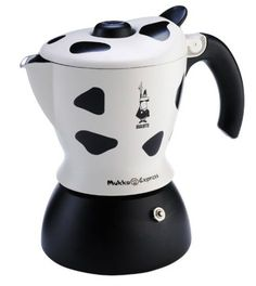 Bialetti Mukka Express - Stove Top Cappuccino/Latte Coffee Maker - With Built-In Milk Frother - 2 Cup - Cow Print Latte Coffee Maker, Café Latte, Cappuccino Maker, Best Coffee Maker, Cappuccino Coffee, Espresso Maker, Coffee Shop, Coffee Lovers, Espresso Machine Reviews
