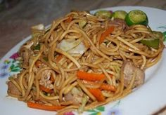 Filipino Recipes, Dishes And Delicacies: Pancit Canton