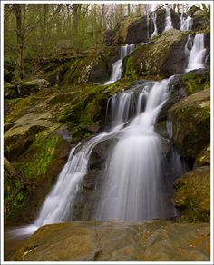 Dark Hollow Falls at Shenandoah National Park