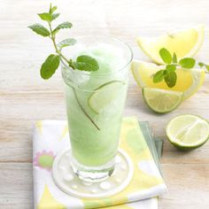 Mojito Slush (1 package (3 ounces) lime gelatin 2 tablespoons sugar 1 ...
