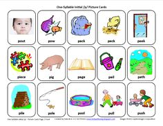 Initial /p/ Articulation Card... Download this Articulation Card here http://testyyettrying.blogspot.com/2011/06/initial-p-free-speech-therapy.html