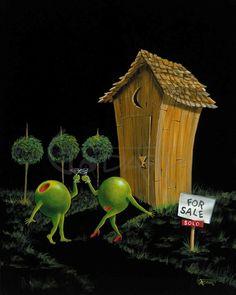 michael godard paintings