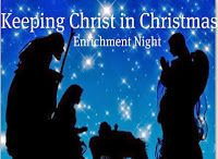 """Didi @ Relief Society: Christ in Christmas Program - Use this program for your December RS """"Enrichment"""" night (see an example of it!)"""