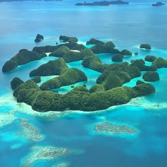 A similar picture of Palau's Rock Islands has been on my desktop computer at work for the last six months I was working in Kansas and now I got one of my own! Such an amazing place  by notsupposedto