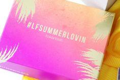 Die Lookfantastic LFSummerlovin Beautybox im Juli 2016 wird euch von The Makeup Jungle vorgestellt. Mit benefit, Nuxe, MiTi, Kebelo, Bellapierre & thisworks