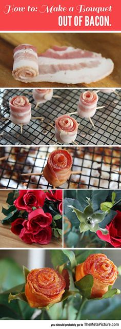 Make A Bouquet Out Of Bacon